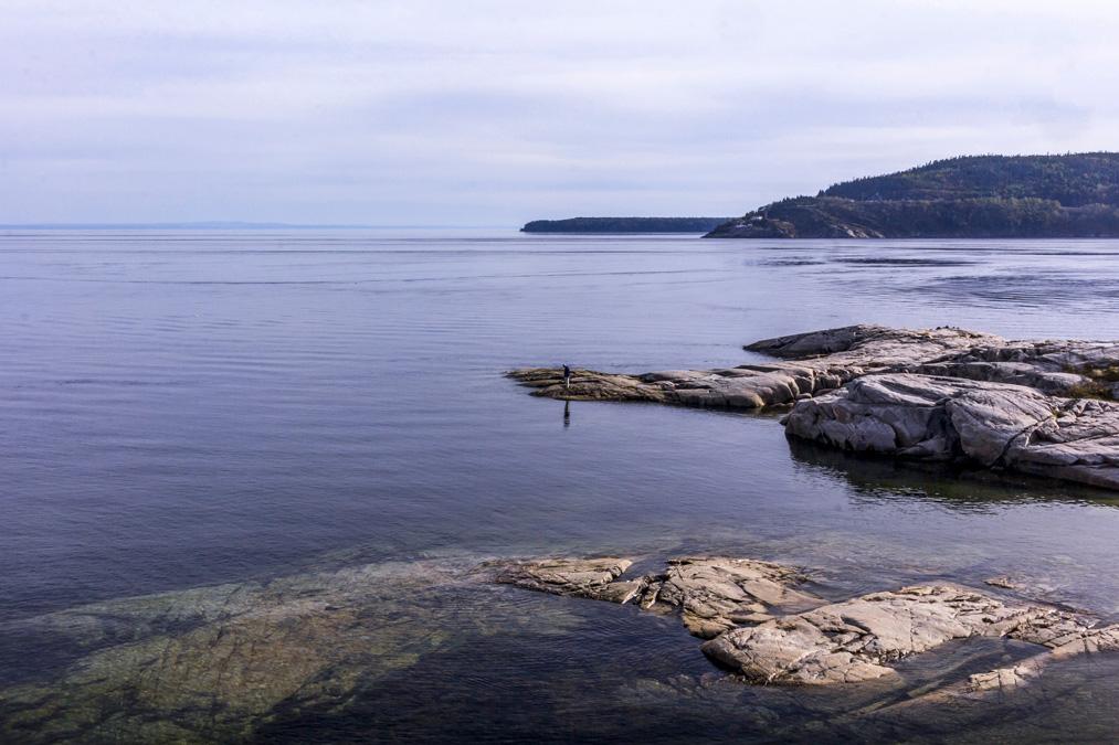Pointe de l'Islet au Canada
