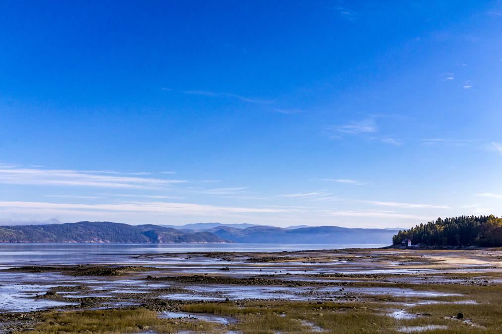 Rivière Saguenay au Canada
