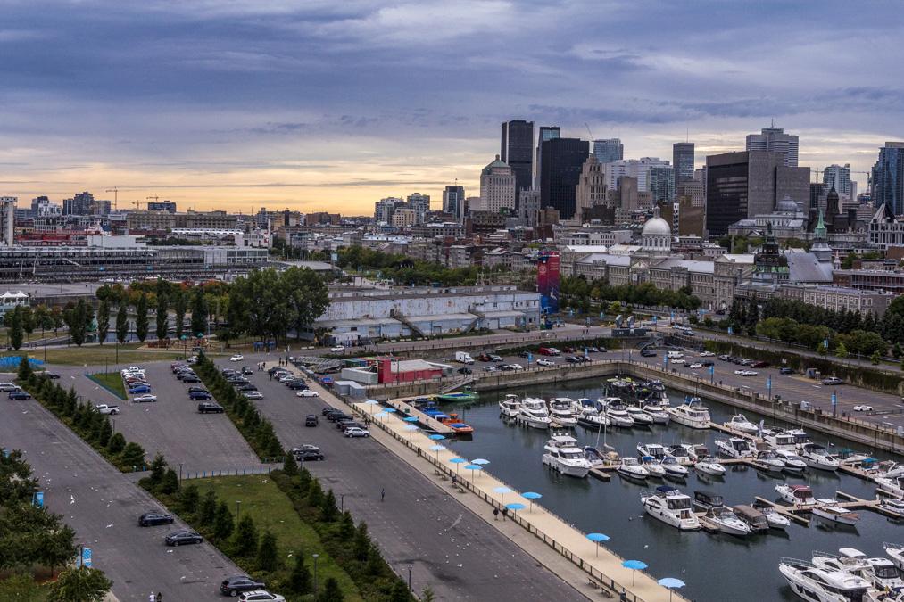 Vieux-Port de Montréal au Canada
