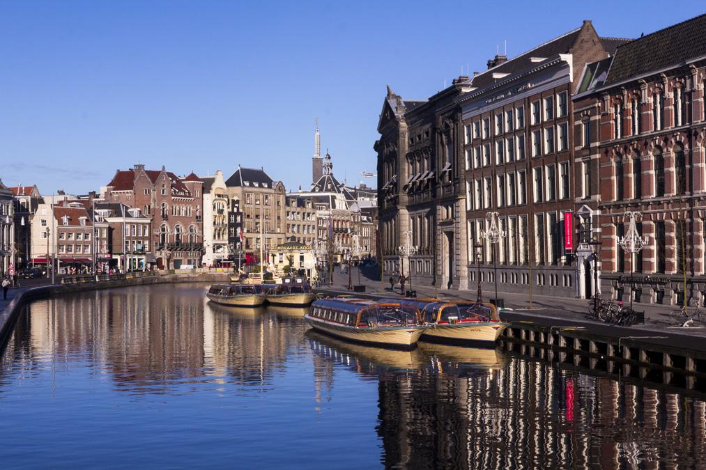 Canal Rokin à Amsterdam