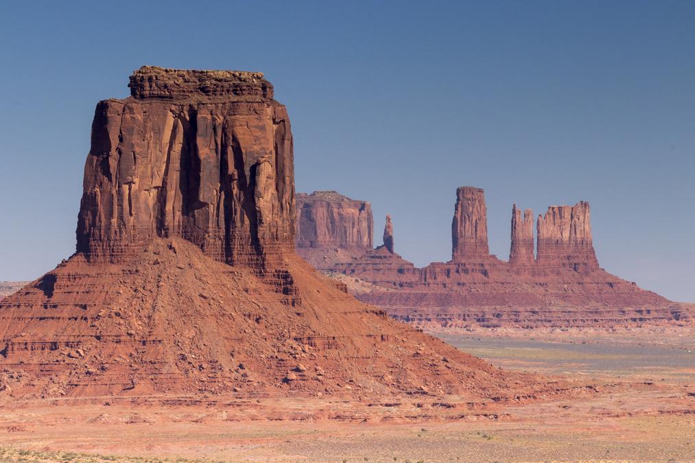 Artist's Point dans le site de Monument Valley aux Etats-Unis