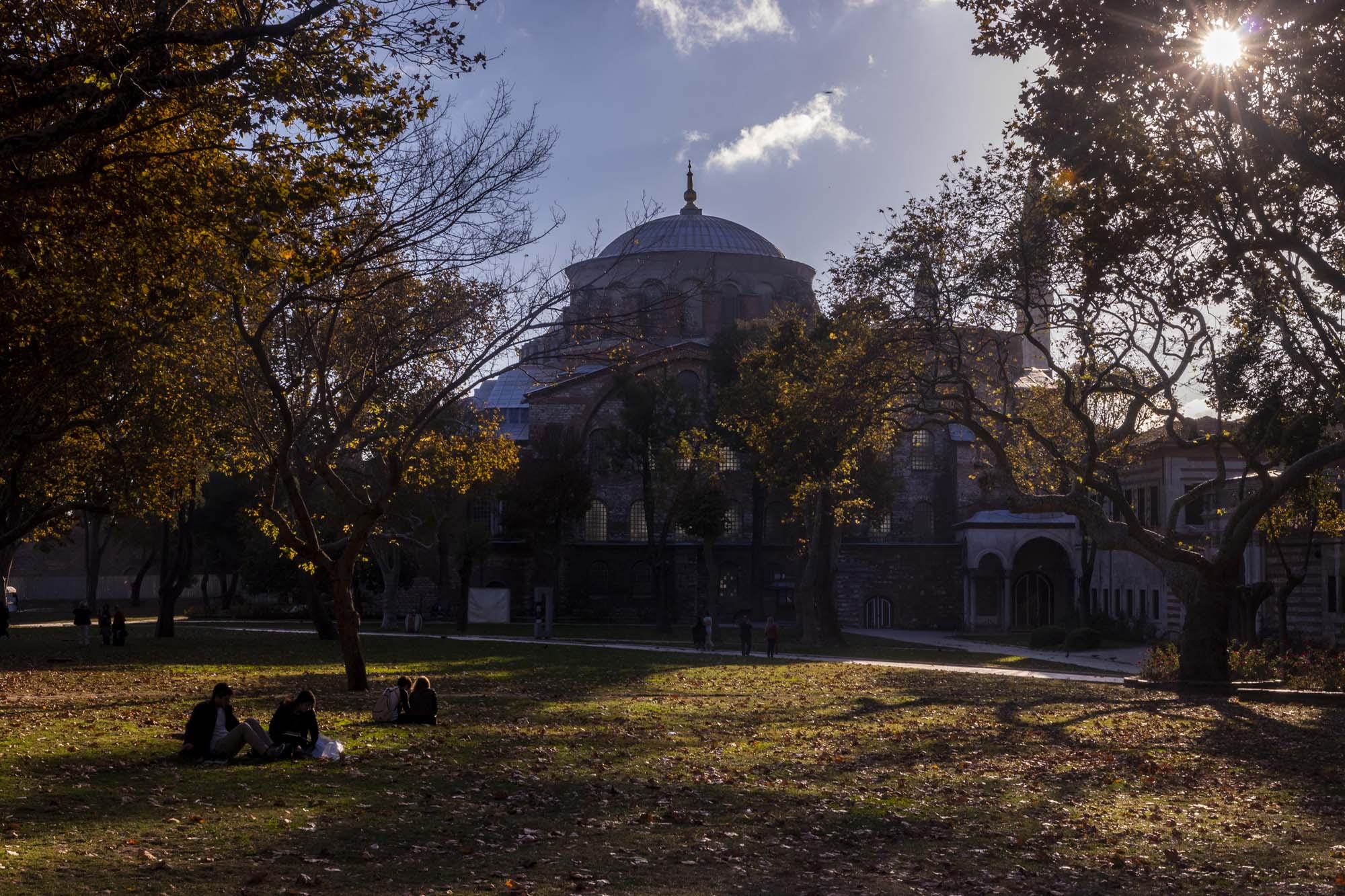 Aya İrini (Sainte Irène) dans la ville d'İstanbul en Turquie