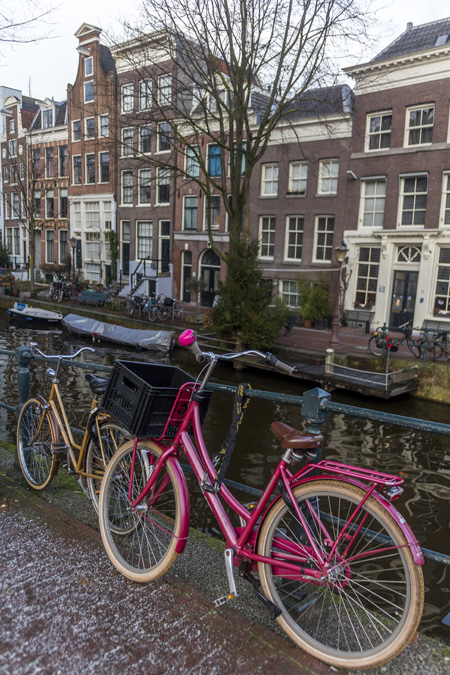 Prinsengracht (Canal du Prince) à Amsterdam