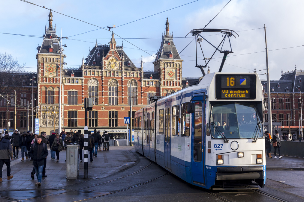 Centraal Station à Amsterdam