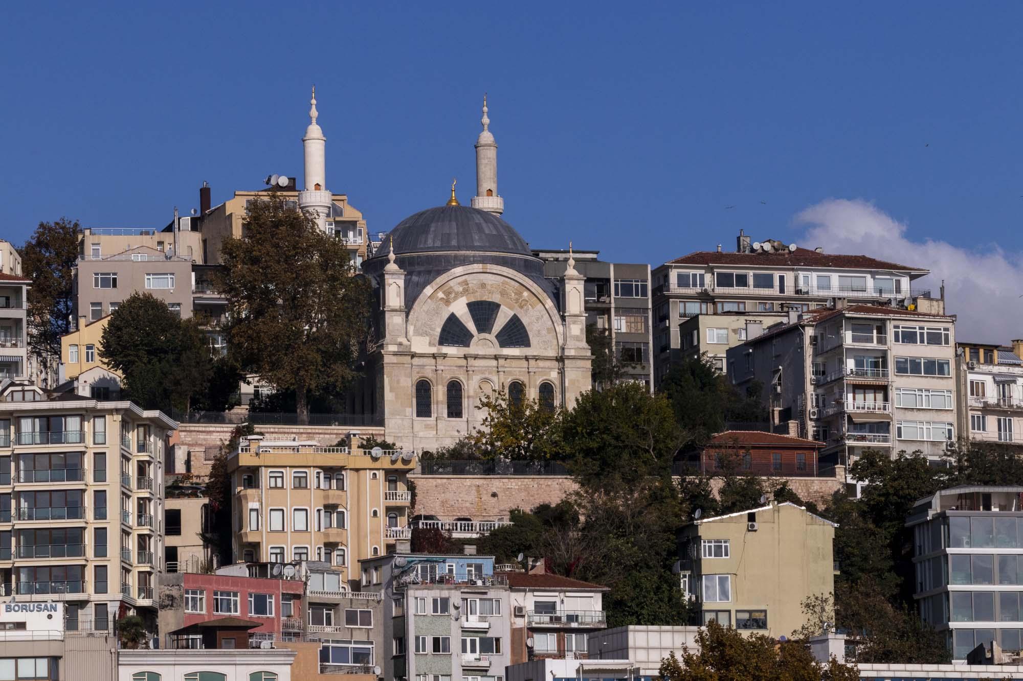 Cihangir Camii dans la ville d'İstanbul en Turquie