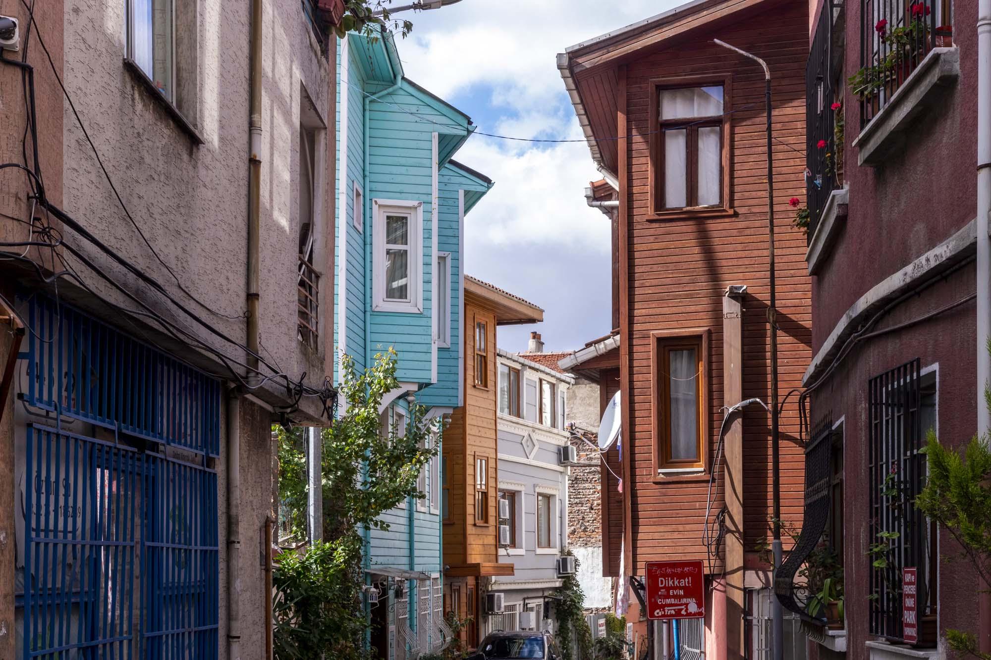 District de Fatih dans la ville d'İstanbul en Turquie