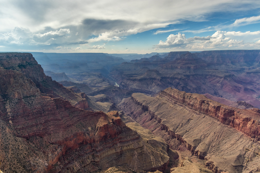 Grandview Point du Grand Canyon National Park aux Etats-Unis
