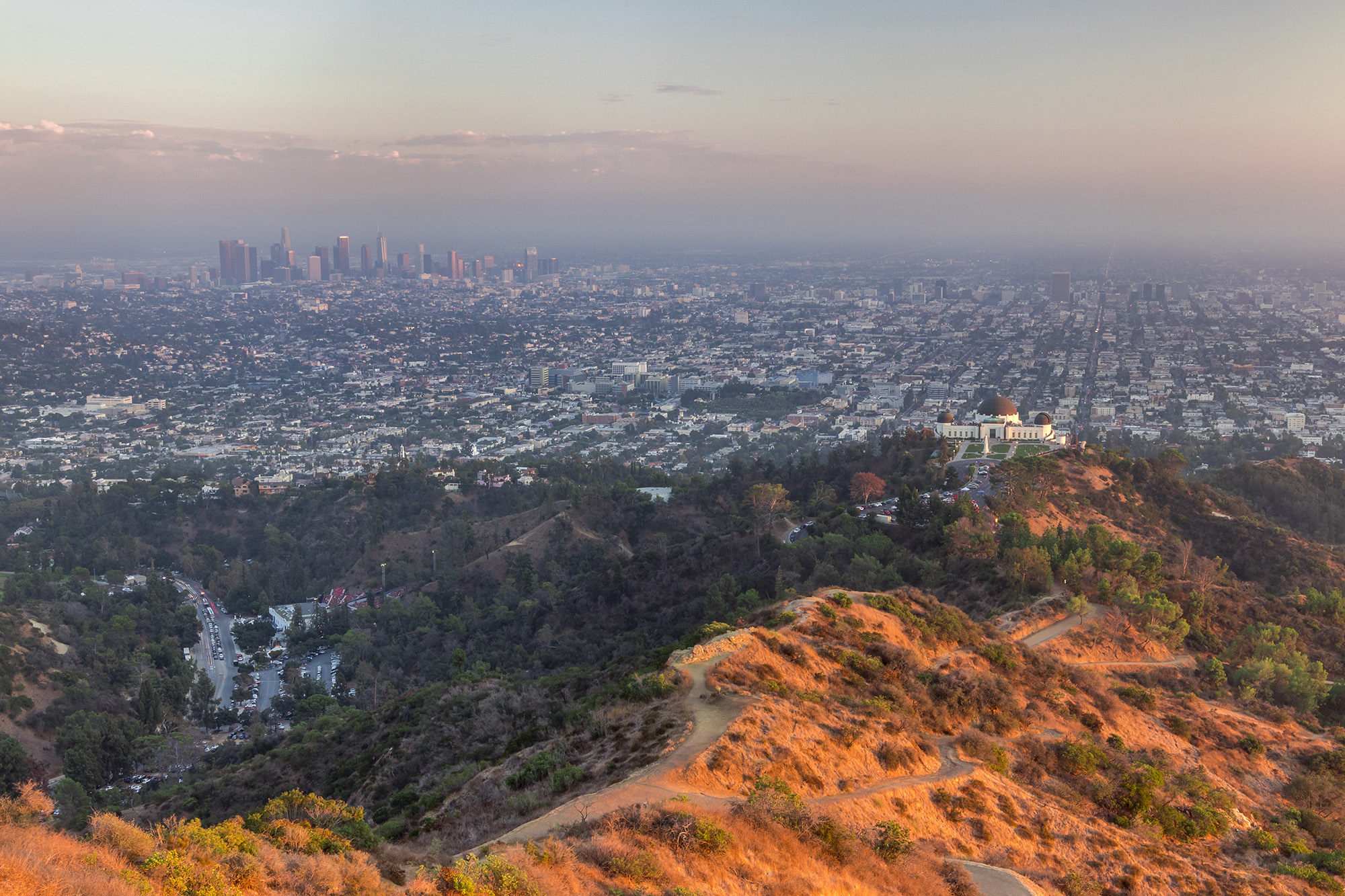 Griffith Park à Los Angeles aux Etats-Unis
