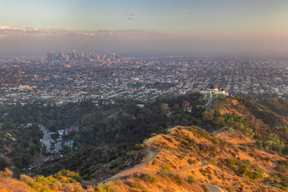 Griffith Park à Los Angeles aux Etats-Unis