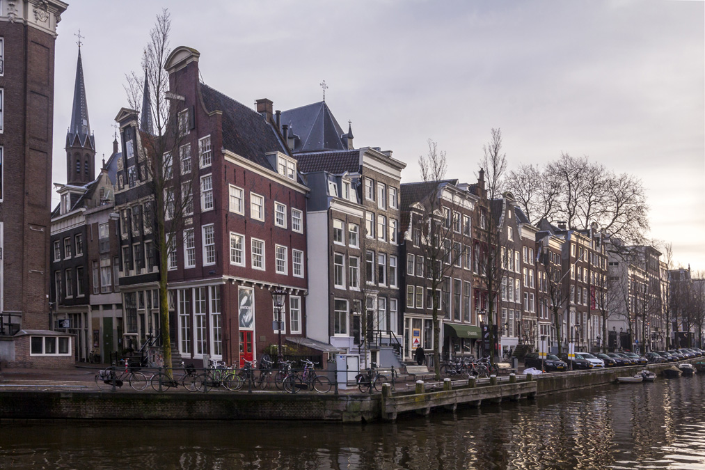 Herengracht (Canal des seigneurs) à Amsterdam