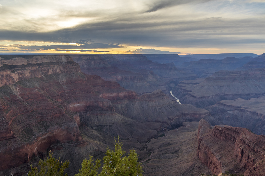 Hopi Point du Grand Canyon National Park aux Etats-Unis