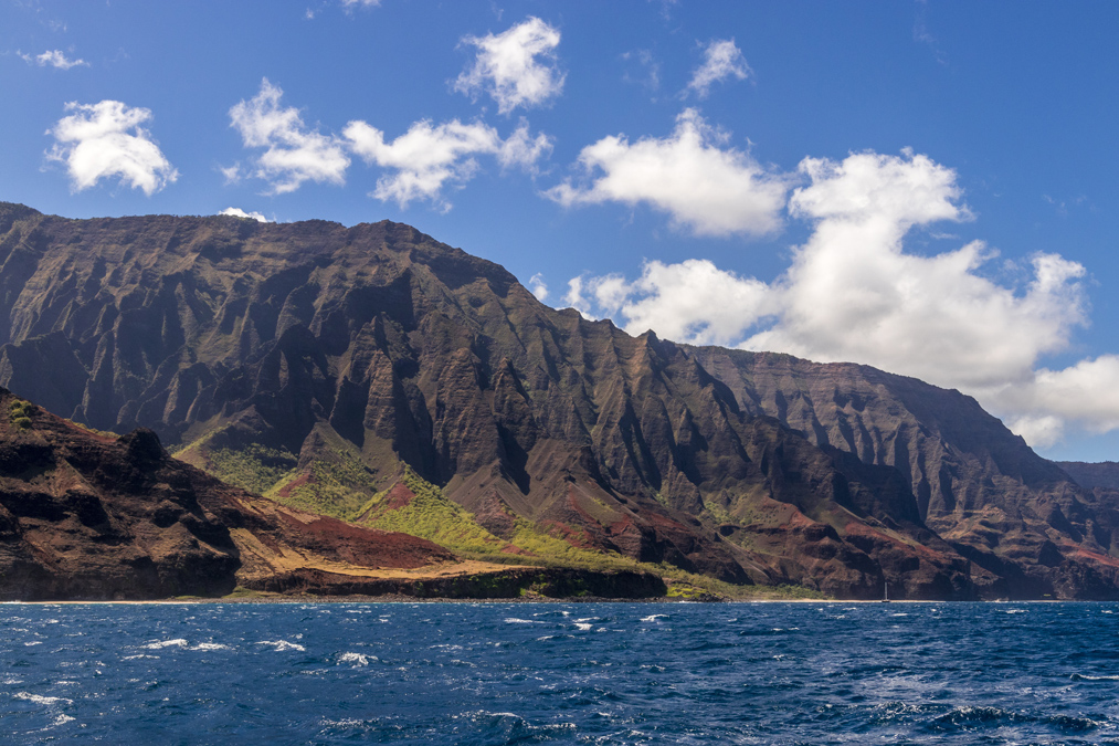 Nā Pali Coast State Park sur l'île Kauai de l'archipel d'Hawaï