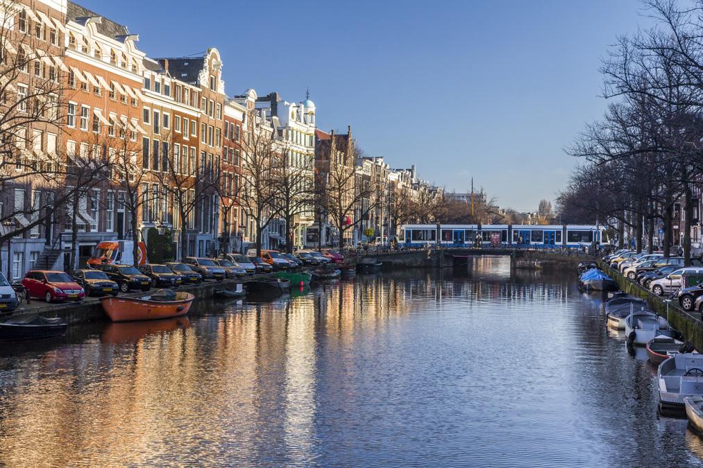 Keizersgracht (Canal de l'empereur) à Amsterdam