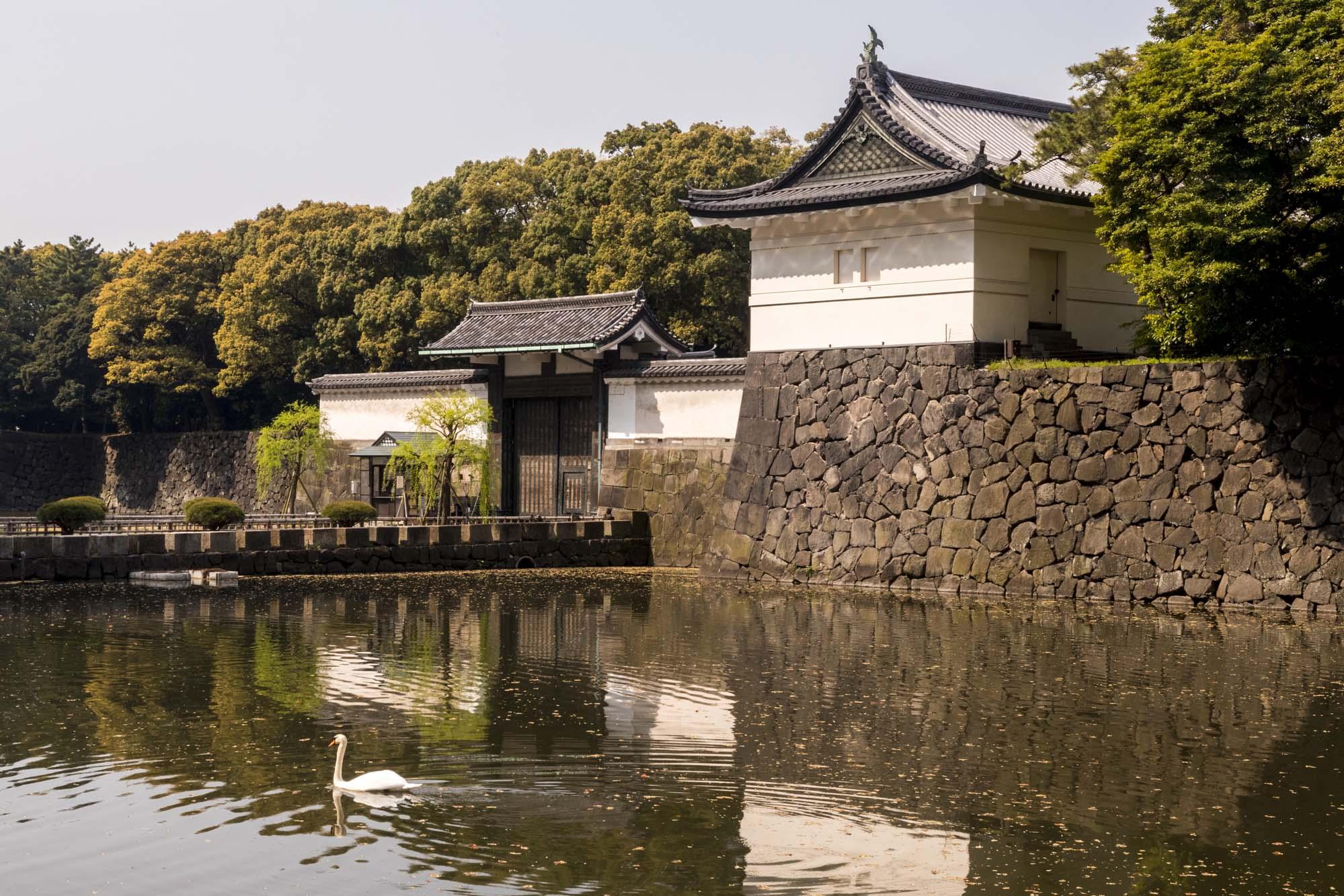 Kōkyo dans la ville de Tōkyō au Japon