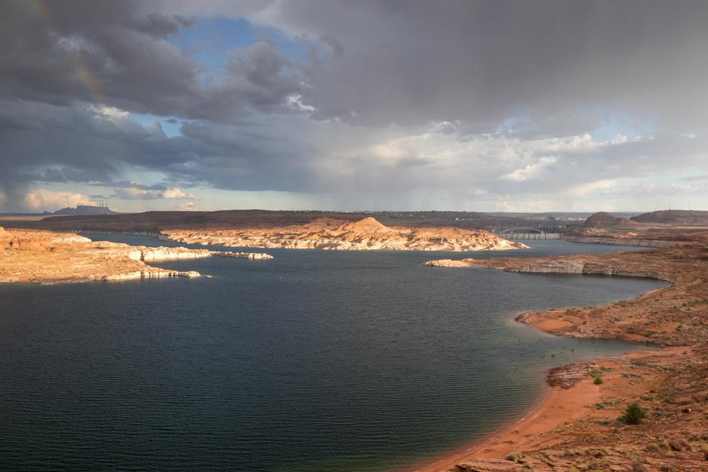 View Point du Lake Powell aux Etats-Unis