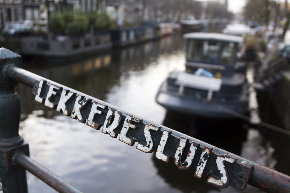 Pont Lekkeresluis à Amsterdam