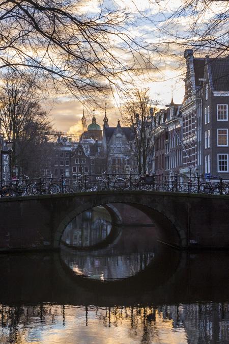 Leliegracht (Canal du Lys) à Amsterdam
