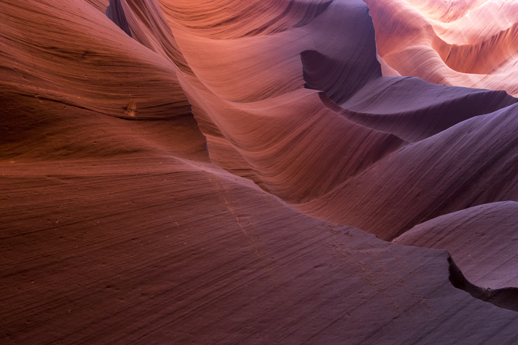 Lower Antelope Canyon aux Etats-Unis