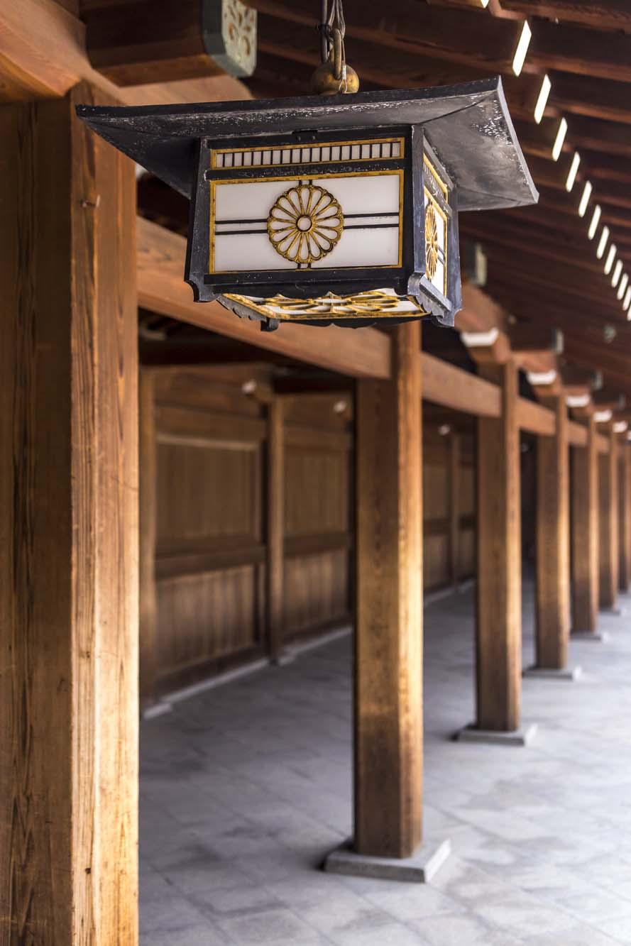 Meiji-jingū dans la ville de Tōkyō au Japon