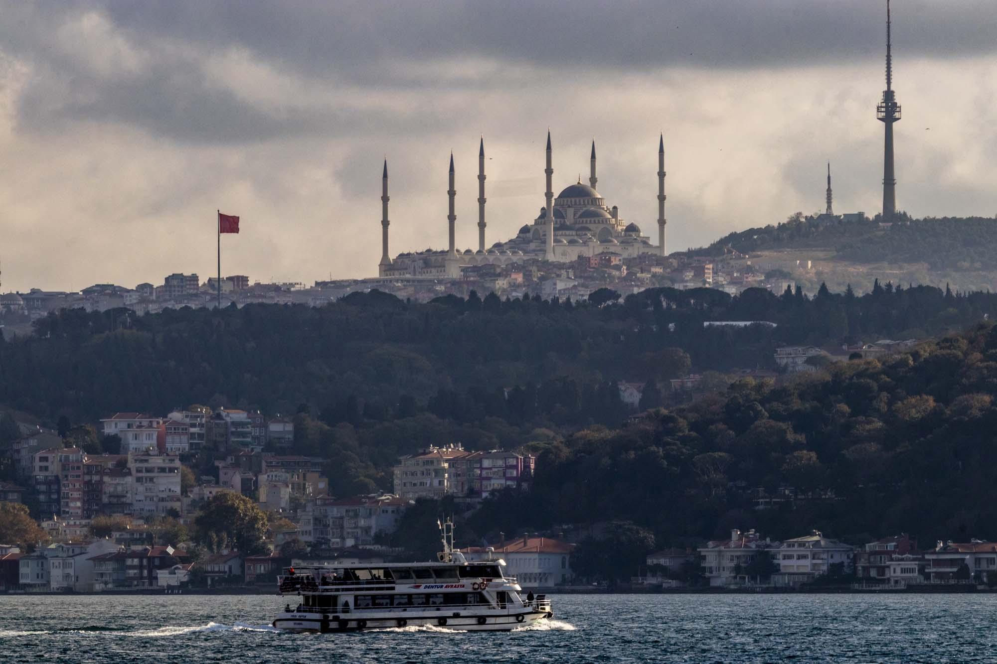 Çamlıca Camii dans la ville d'İstanbul en Turquie