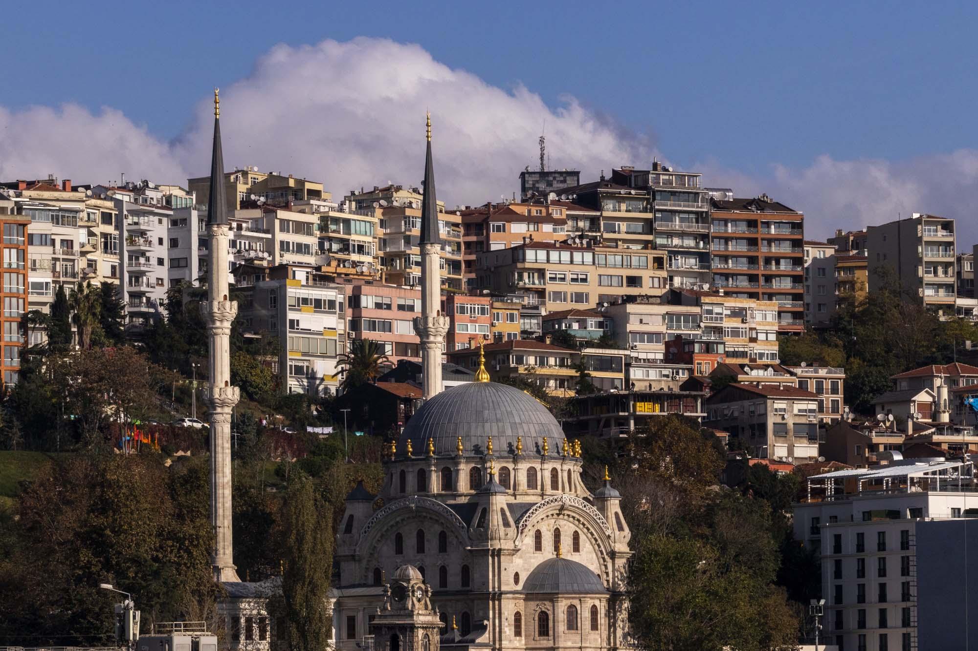 Nusretiye Camii dans la ville d'İstanbul en Turquie