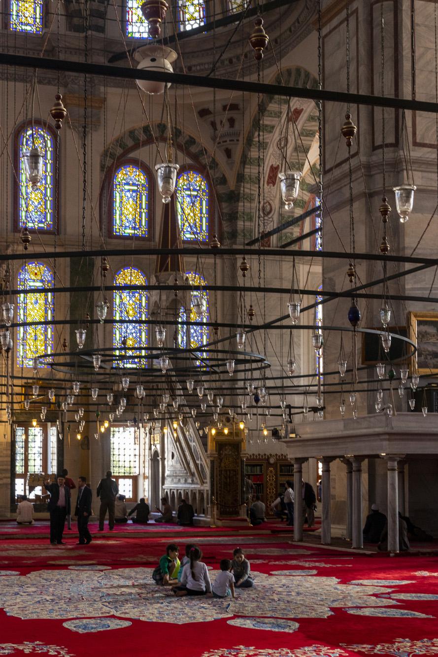 Fatih Camii dans la ville d'İstanbul en Turquie