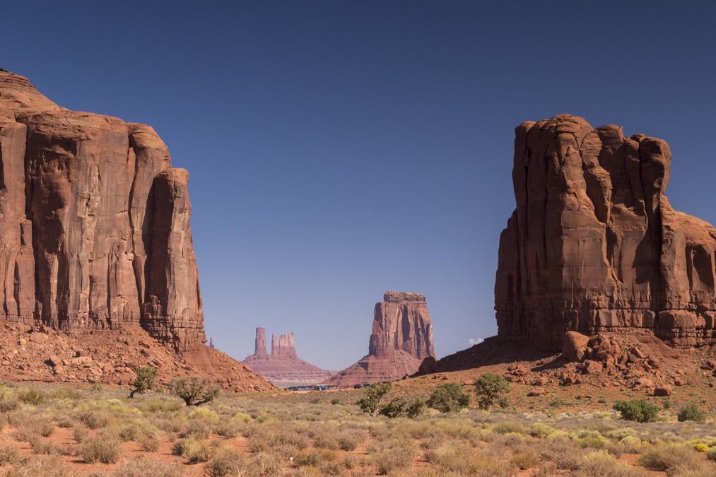 North Window dans le site de Monument Valley aux Etats-Unis
