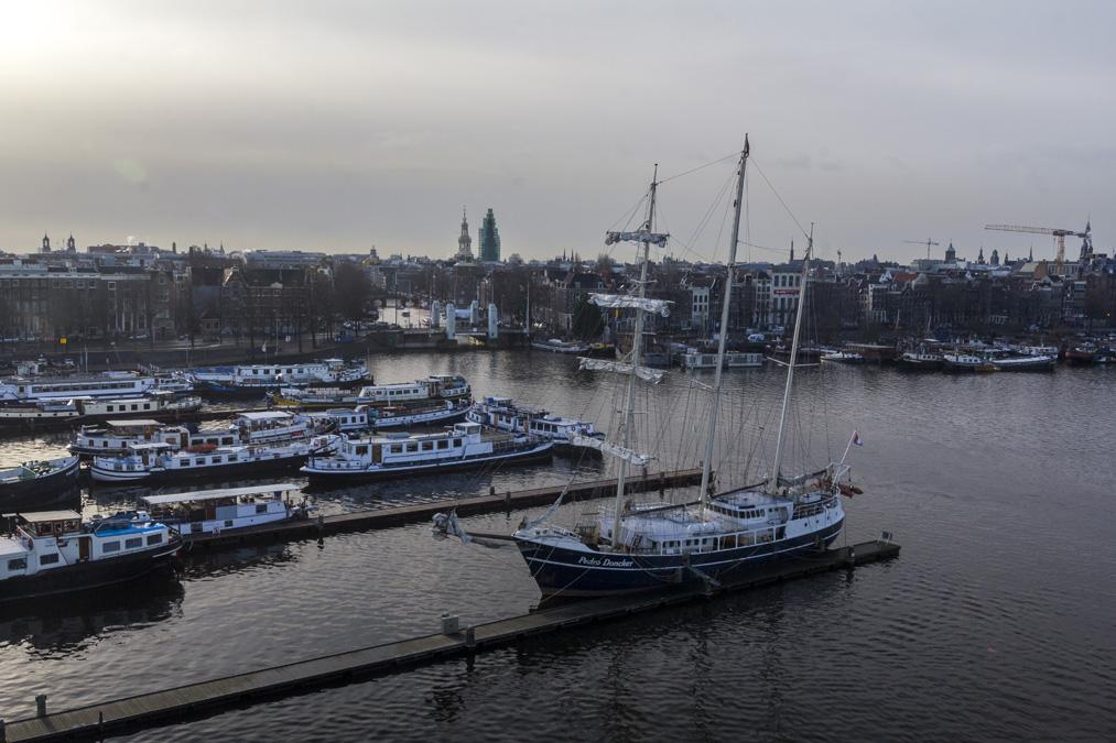 Oosterdok à Amsterdam