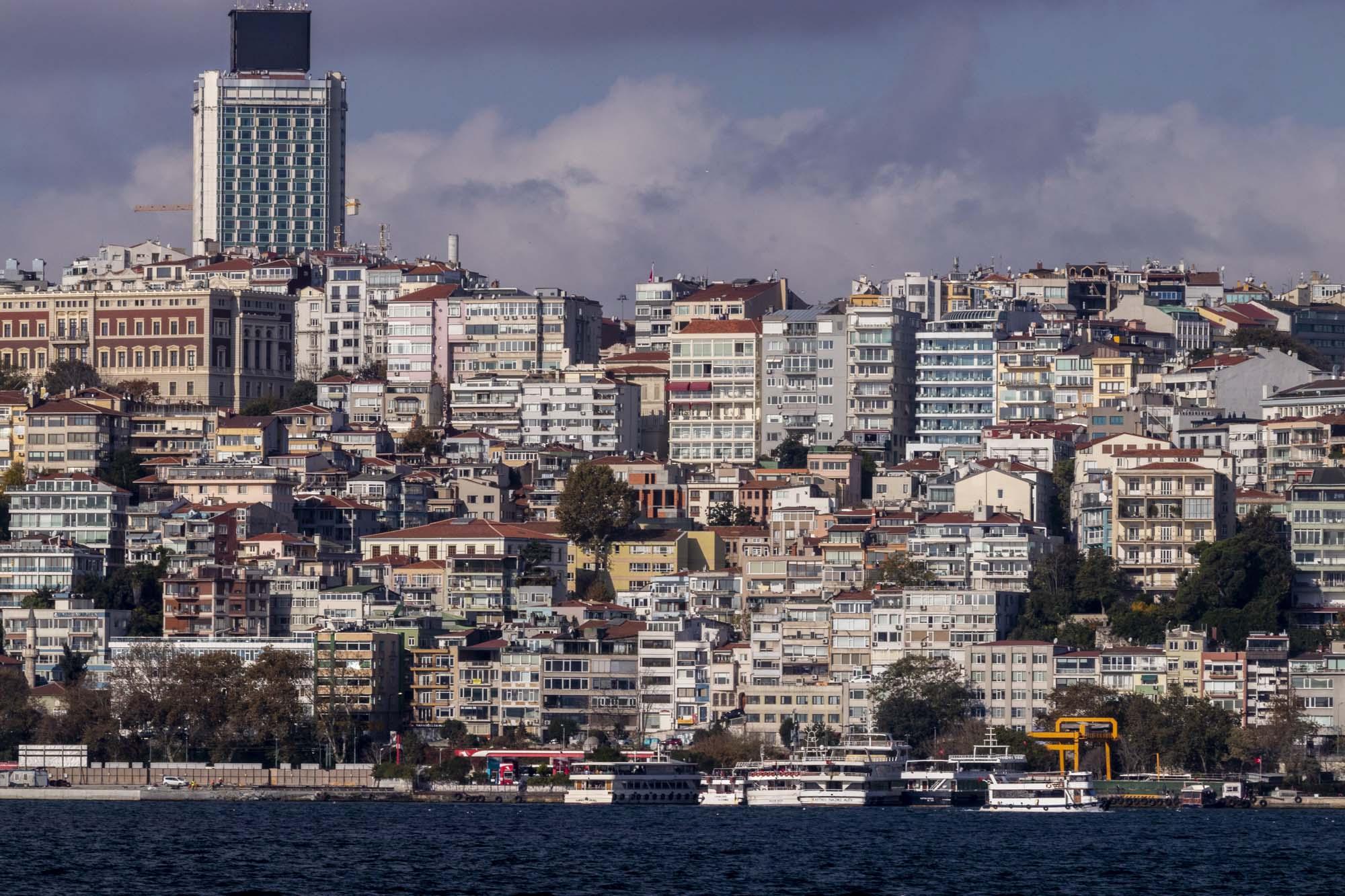 Quartier d'Ortaköy dans la ville d'İstanbul en Turquie