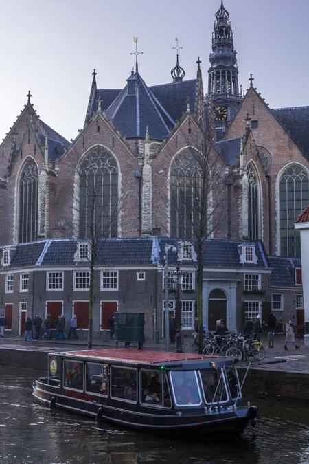 Oude Kerk à Amsterdam