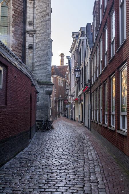Oudekerksplein à Amsterdam