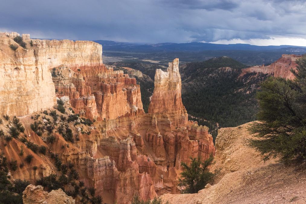 Paria View dans le Bryce Canyon National Park aux Etats-Unis