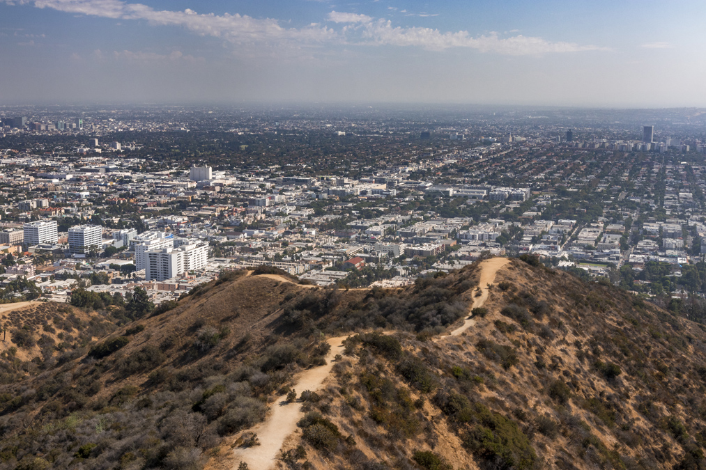 Runyon Canyon Park à Los Angeles aux Etats-Unis