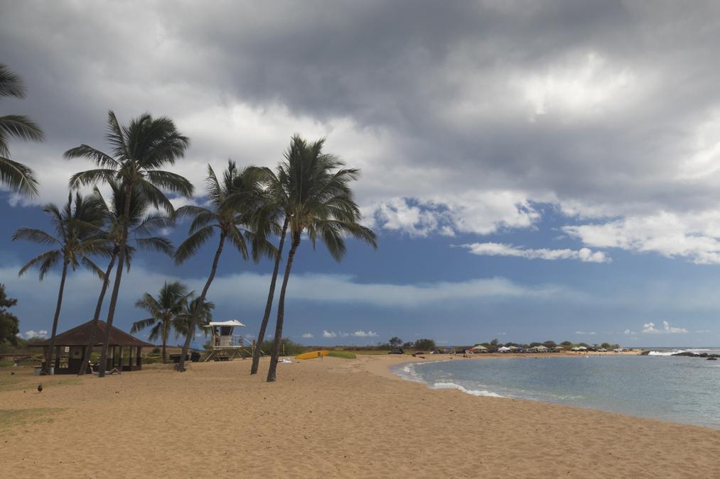 Salt Pond Beach Park sur l'île Kauai de l'archipel d'Hawaï