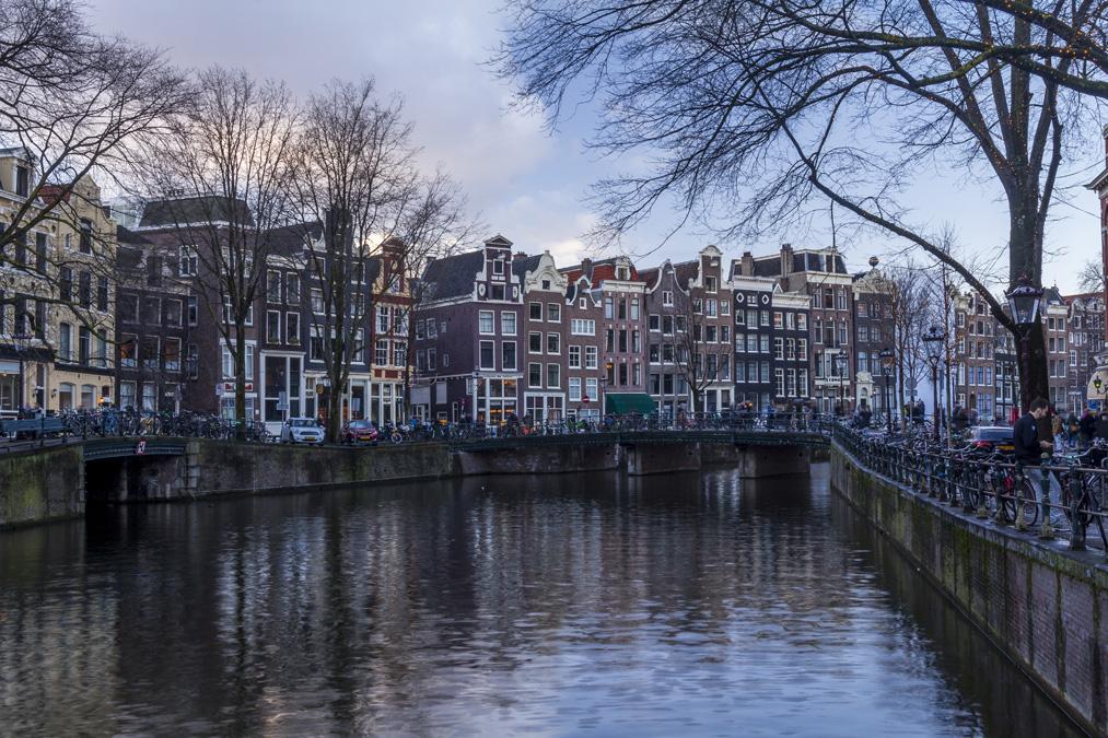 Canal Singel à Amsterdam