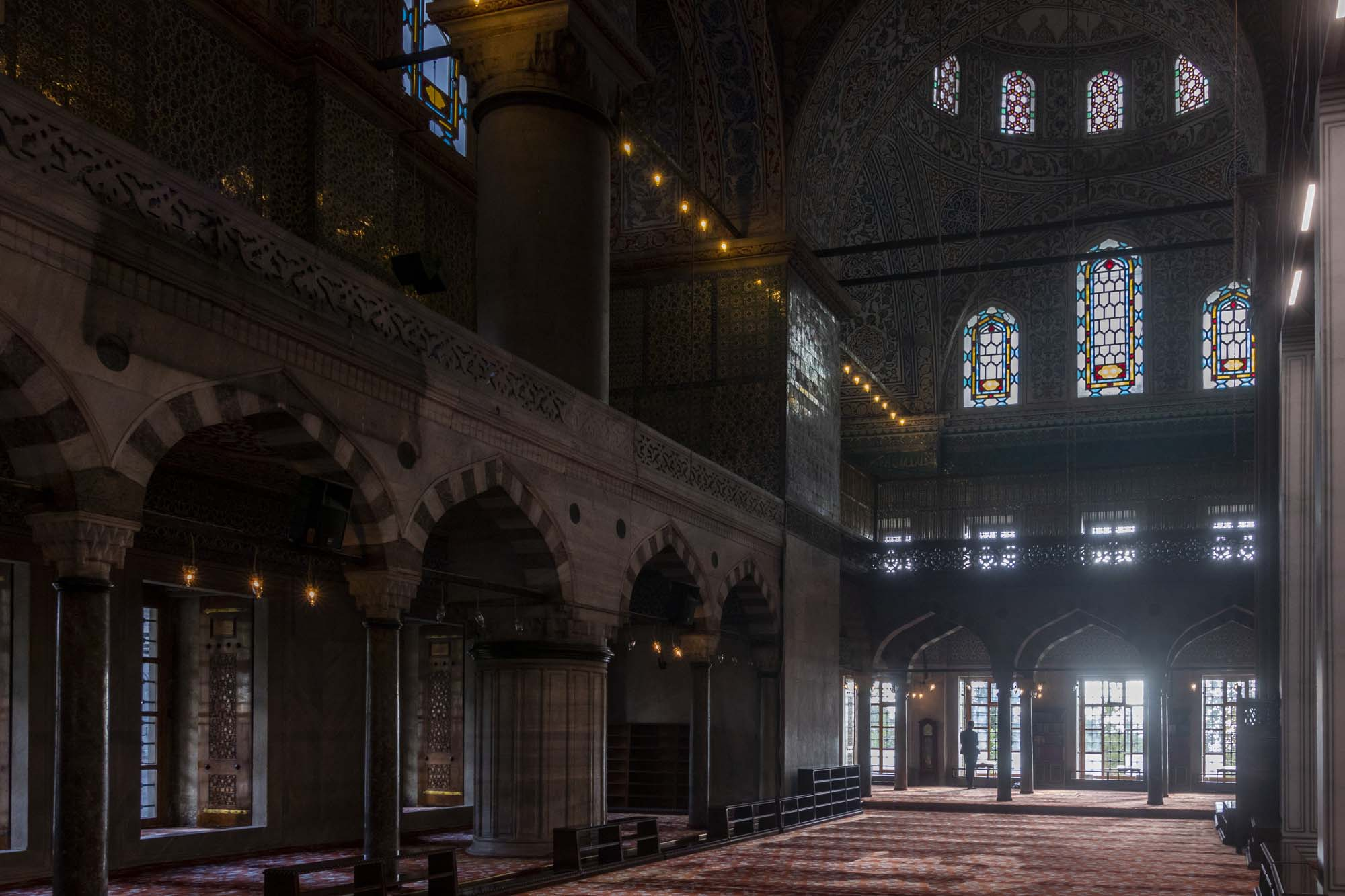 Sultanahmet Camii (Mosquée bleue) dans la ville d'İstanbul en Turquie