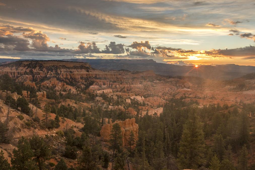 Sunrise Point dans le Bryce Canyon National Park aux Etats-Unis