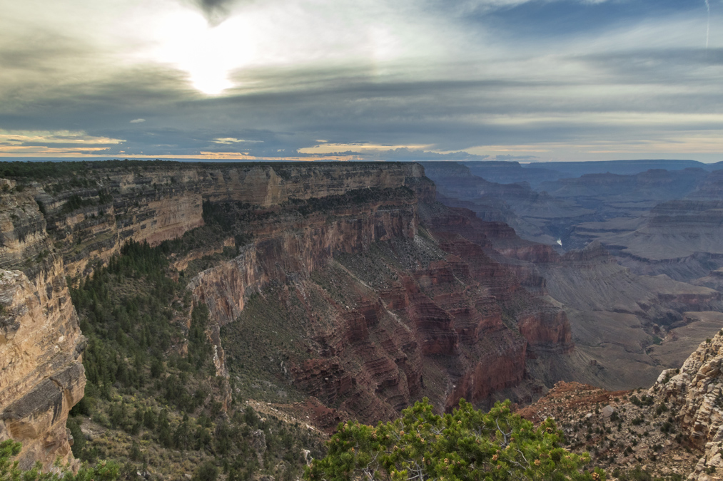 The Abyss du Grand Canyon National Park aux Etats-Unis