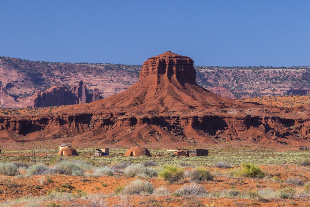 The Hub dans le site de Monument Valley aux Etats-Unis