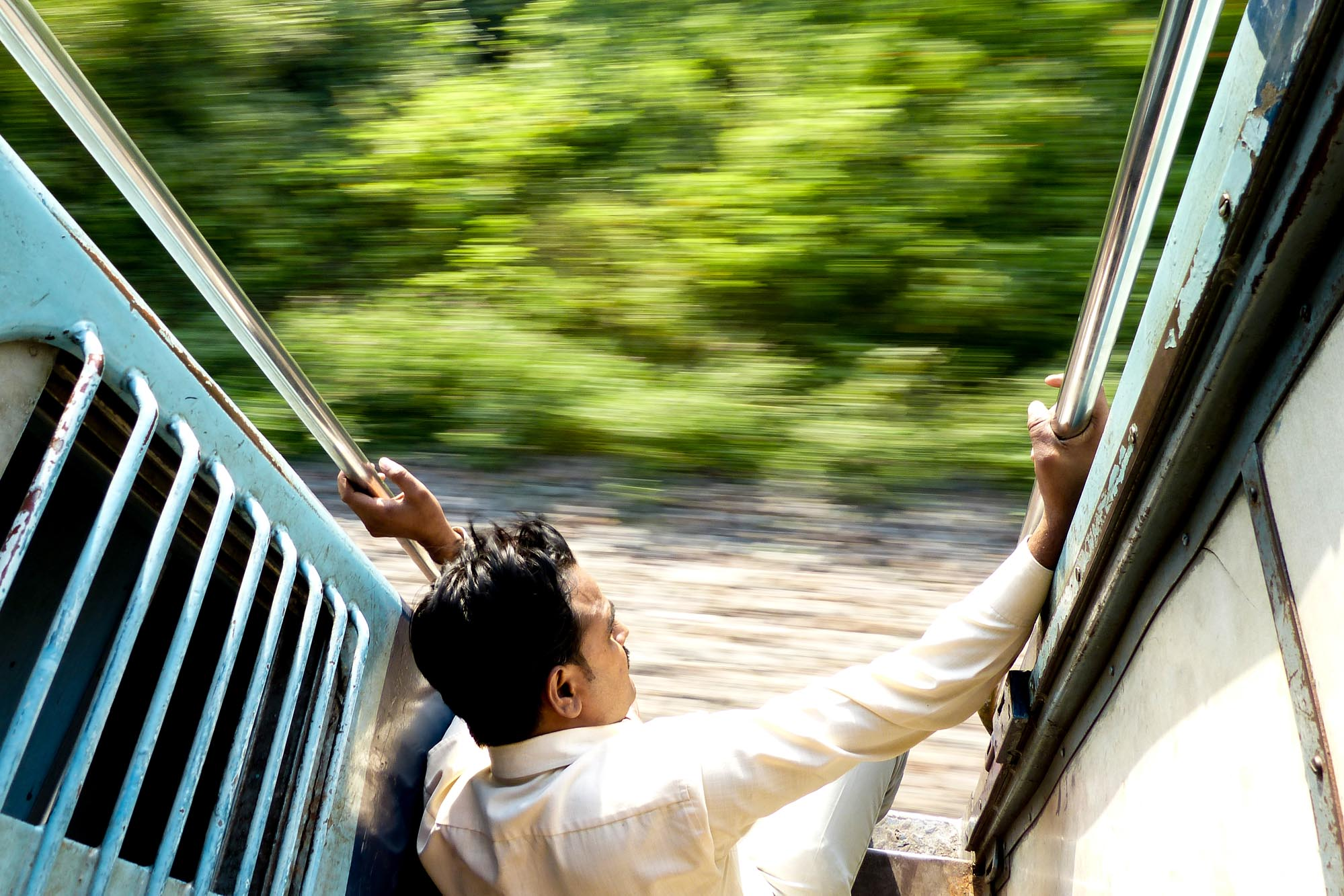 Train en Inde du Nord