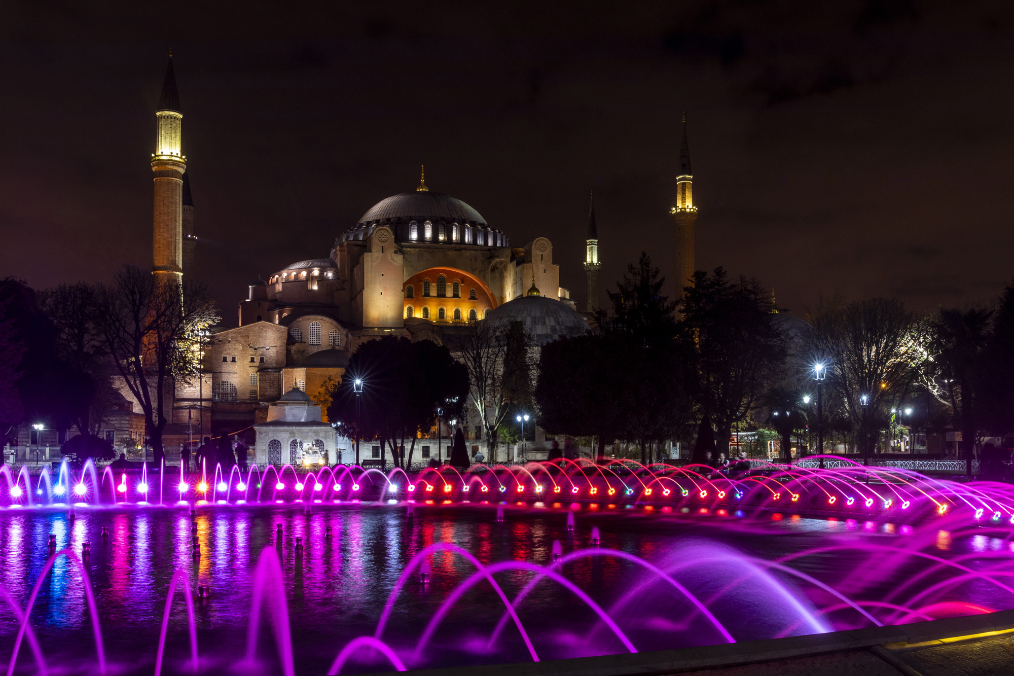 Hagía Sophía (Sainte-Sophie) dans la ville d'İstanbul en Turquie