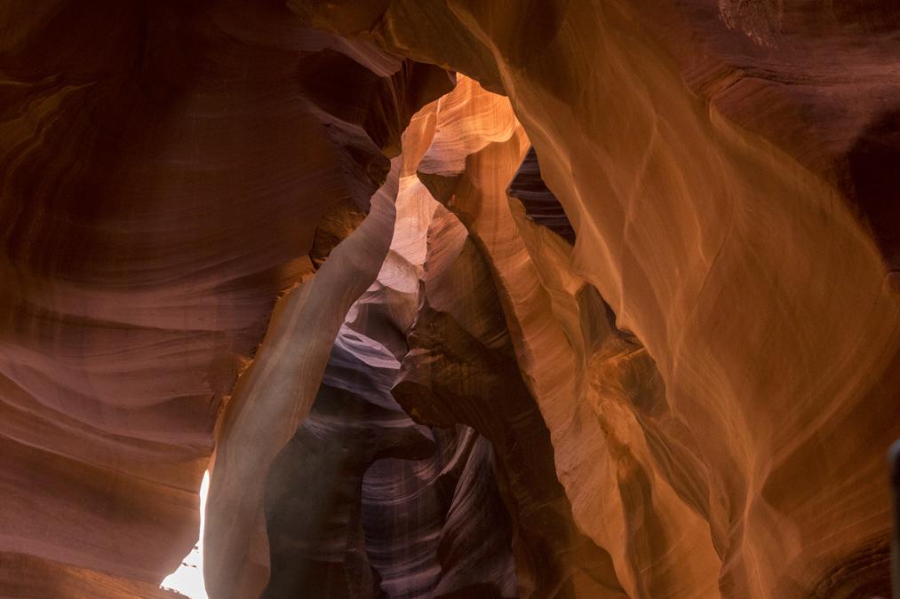 Upper Antelope Canyon aux Etats-Unis