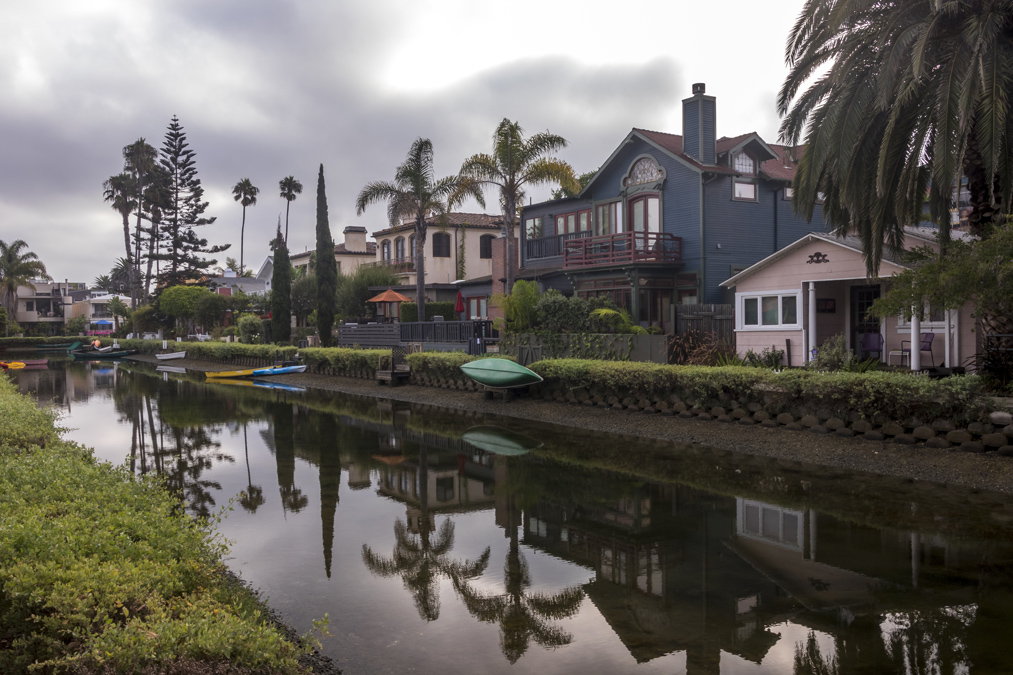 Venice Canals à Los Angeles aux Etats-Unis