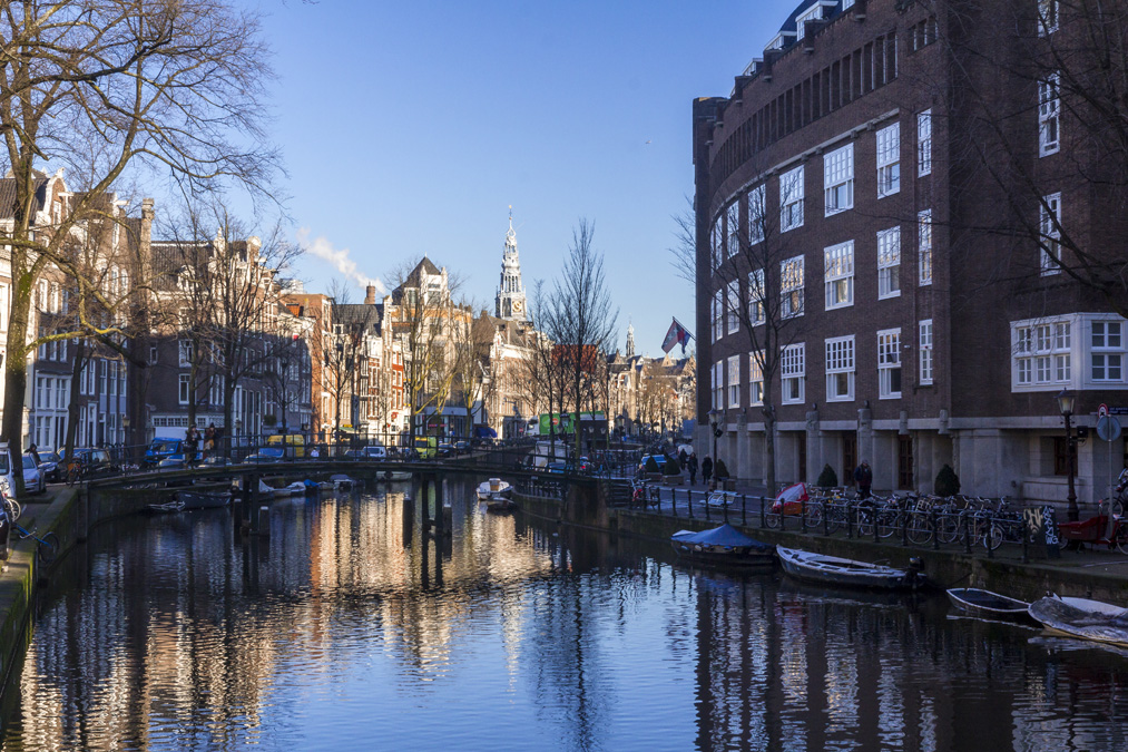 Oudezijds Voorburgwal à Amsterdam