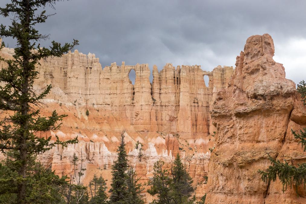 Wall of Windows dans le Bryce Canyon National Park aux Etats-Unis