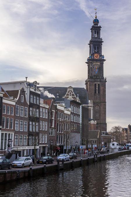 Westerkerk à Amsterdam