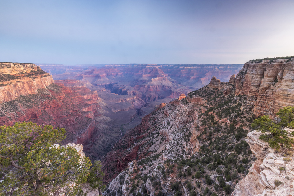 Yaki Point du Grand Canyon National Park aux Etats-Unis