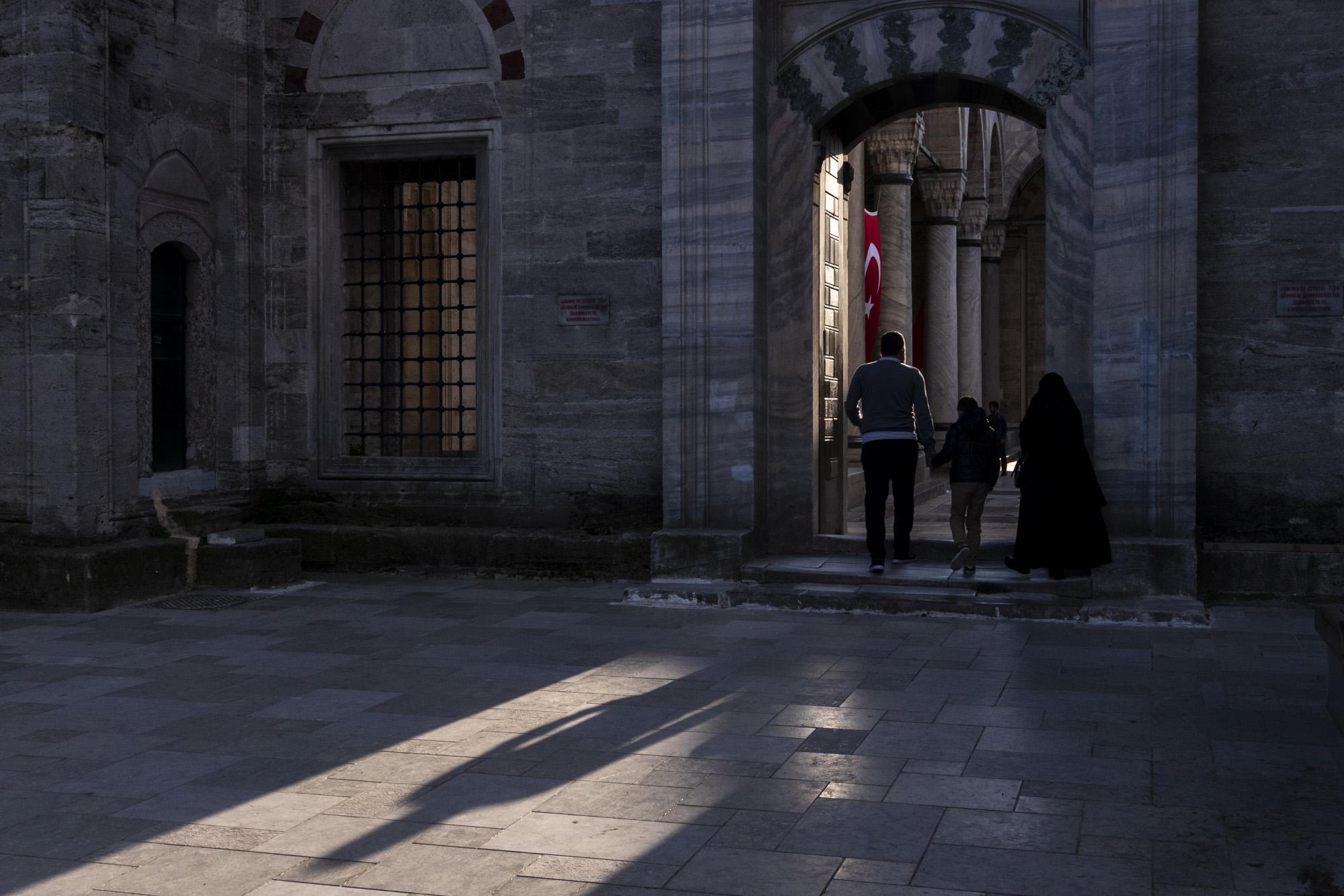 Yavuz Selim Camii dans la ville d'İstanbul en Turquie